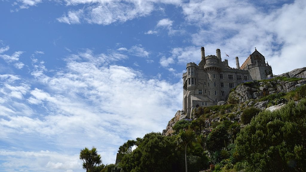 St Michaels mount in Penzance and Marazion